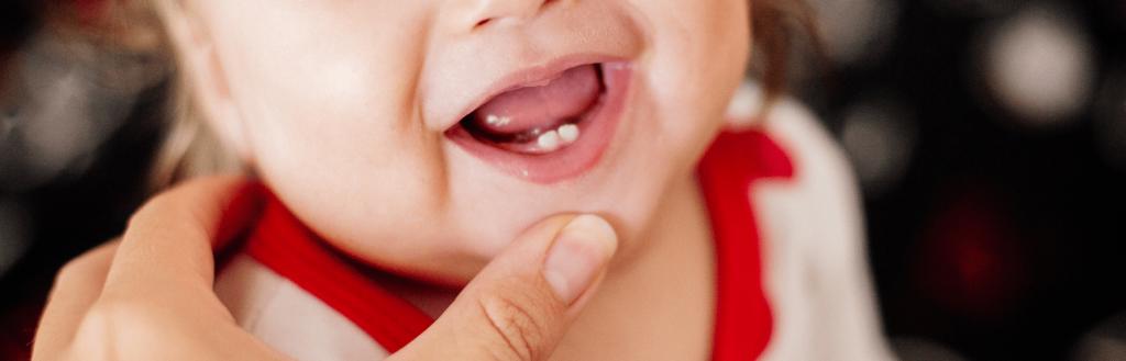 Quando nascem os primeiros dentinhos?